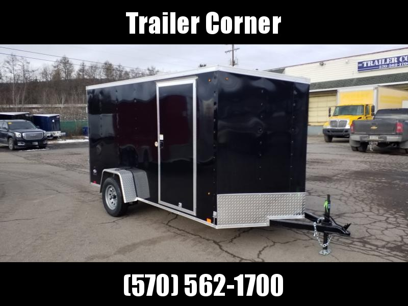 2021 Pace American STLC 6X12 RAMP DOOR 16'' FLOOR Enclosed Cargo Trailer