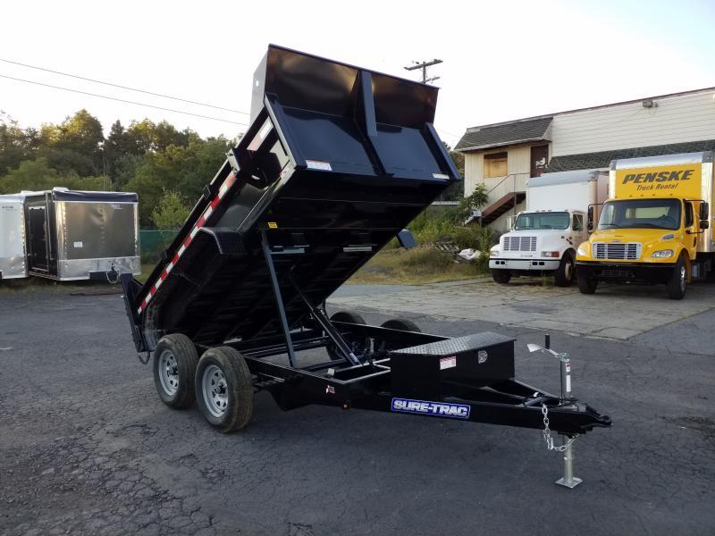 2020 Sure-Trac 6X10 7K RAMPS Dump Trailer