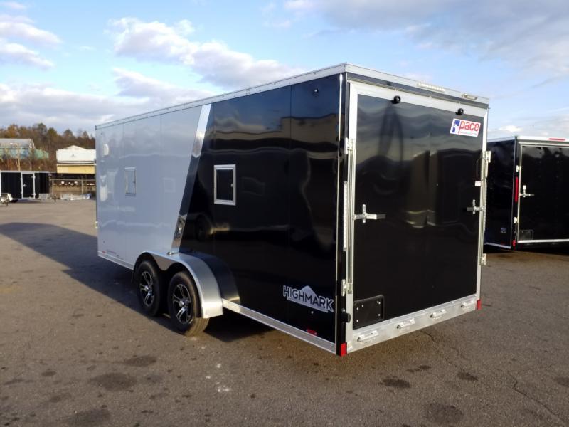 2020 Pace American PASQ 7X23 ALUMINUM Snowmobile Trailer