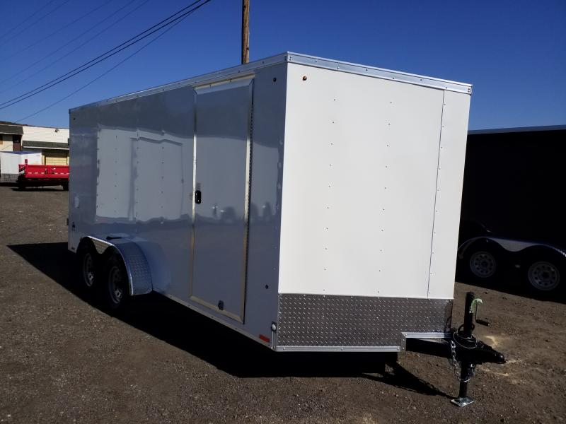2020 Look Trailers STLC 7X16 EXTRA HEIGHT BARN DOORS Enclosed Cargo Trailer