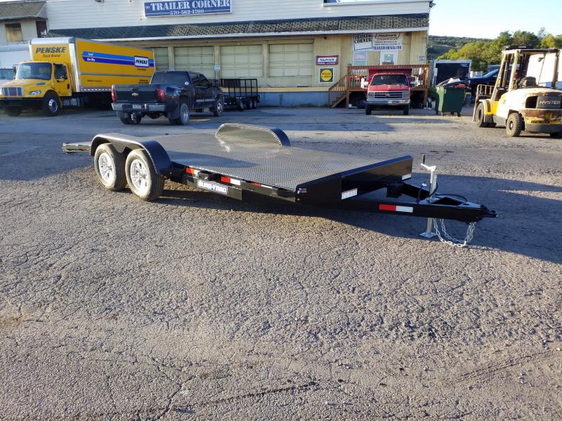 2019 Sure-Trac 7X18 7K STEEL DECK Car / Racing Trailer