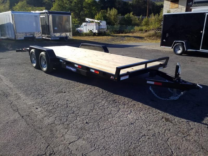 2020 Sure-Trac 7X20 10K WOOD DECK Car / Racing Trailer