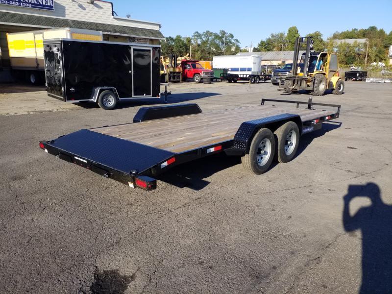 2020 Sure-Trac 7X20 10K WOOD DECK Car / Racing Trailer