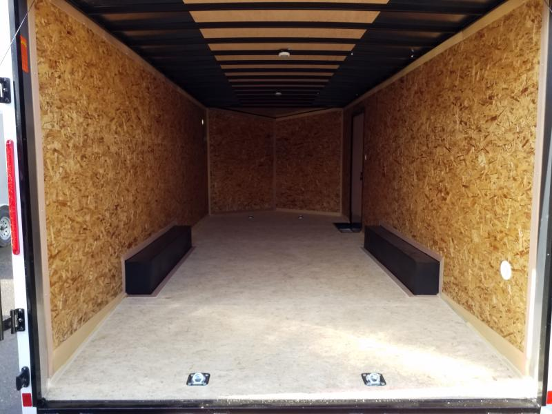 2020 Look Trailers ST 8.5X20 7K DLX BLACKED OUT Car / Racing Trailer