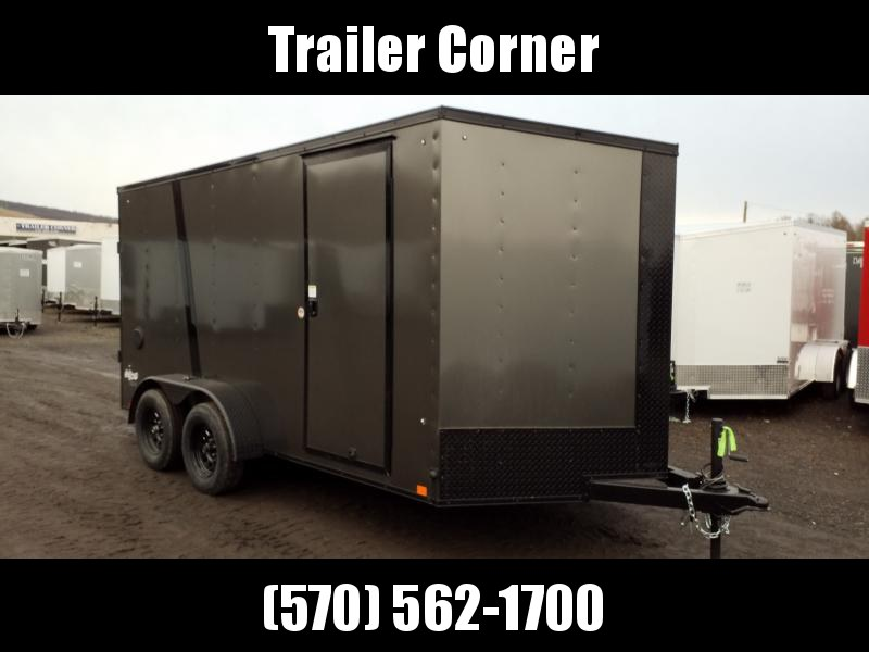2021 Pace American OB 7X14 BLACKED OUT Enclosed Cargo Trailer