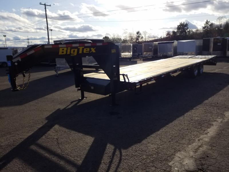 2020 Big Tex Trailers 16GN-255 MEGA RAMPS Flatbed Trailer