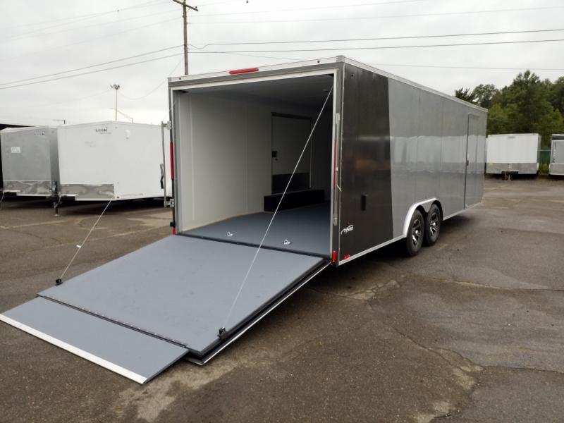 2020 Look Trailers VWLF 8.5X24 10K ESCAPE DOOR Car / Racing Trailer