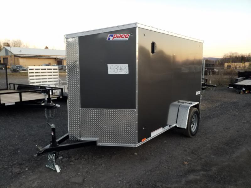 2020 Pace American JV 6X10 RAMP DOOR Enclosed Cargo Trailer