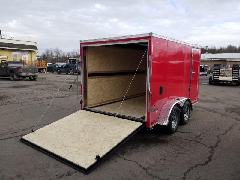 2020 Cargo Express XLW 7X12 BIKE HAULER Enclosed Cargo Trailer