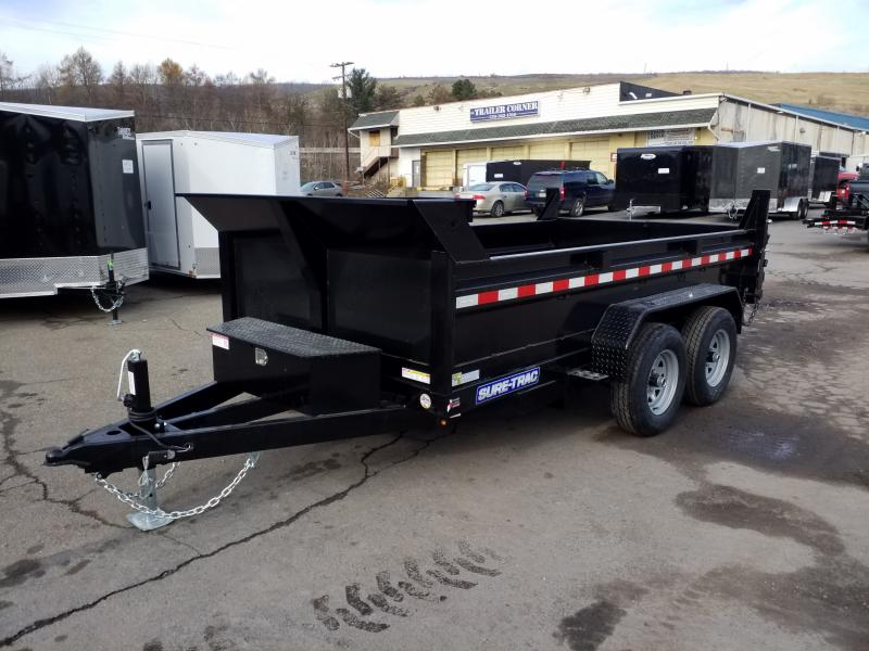 2020 Sure-Trac 6X12 10K RAMPS Dump Trailer