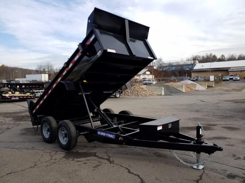 2020 Sure-Trac 6X12 10K RAMPS Dump Trailer