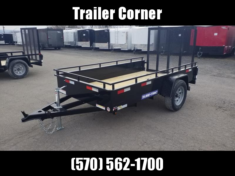 2020 Sure-Trac 5X10 STEEL HIGH SIDE Utility Trailer