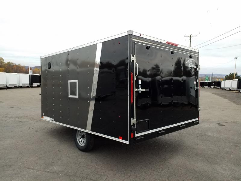 2020 Look Trailers EDFT 8.5X12 Snowmobile Trailer