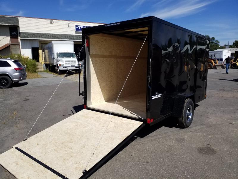 2020 Formula CONQUEST 6X12 BLACK OUT Enclosed Cargo Trailer