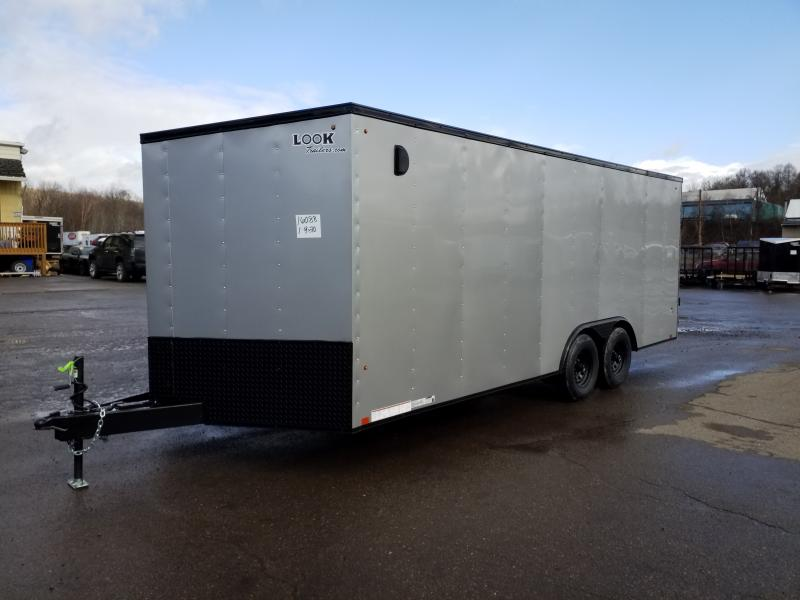2020 Look Trailers ST 8.5X20 DLX 10K BLACKED OUT Car / Racing Trailer