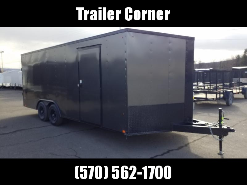 2021 Look Trailers ST 8.5X20 10K DLX BLACKED OUT Car / Racing Trailer