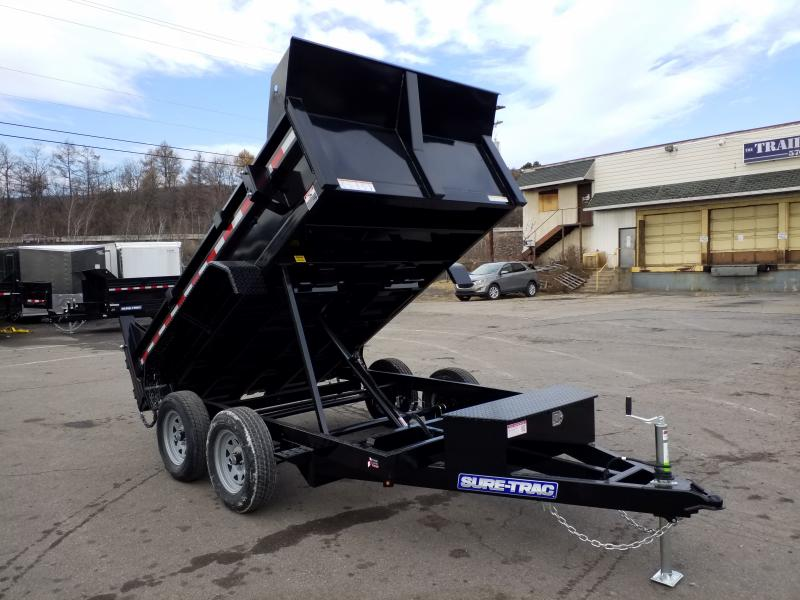 2020 Sure-Trac 6X10 7K RAMPS Dump Trailer