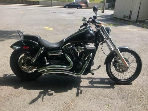 2012 Harley Davidson DYNA WIND-GLIDE Motorcycle