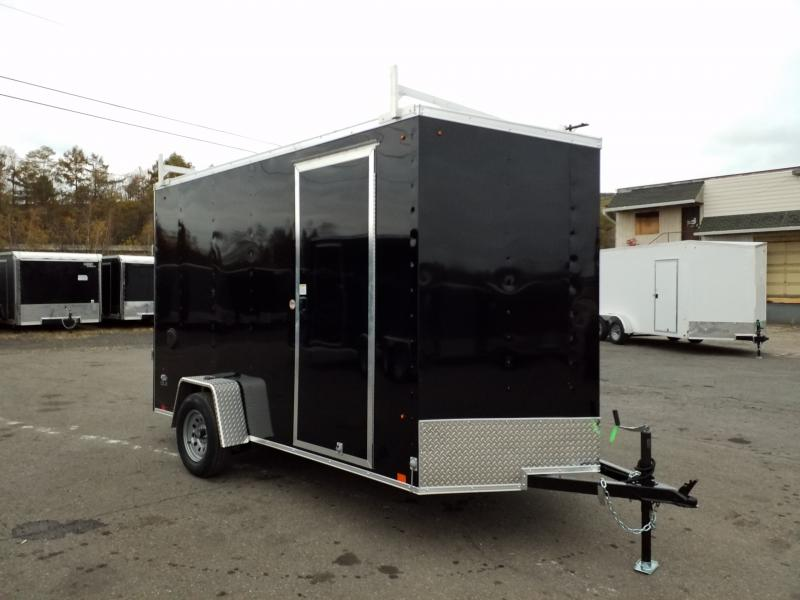 2020 Look Trailers STLC 6X12 LADDER RACKS - EXTRA HEIGHT Enclosed Cargo Trailer