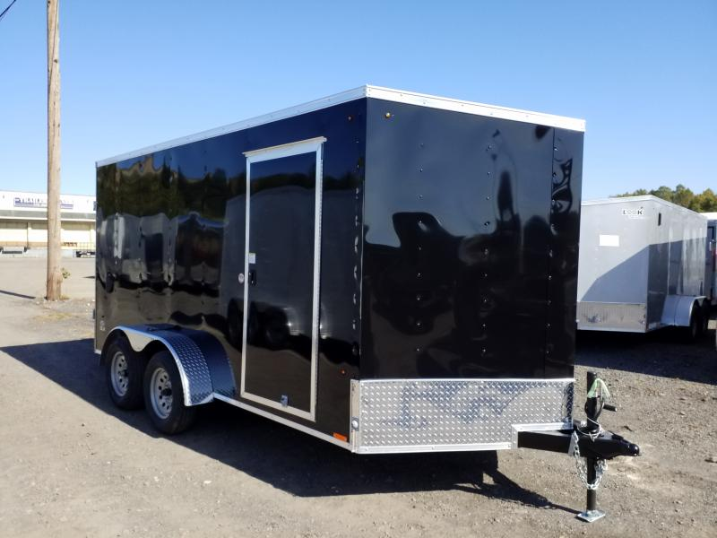 2020 Look Trailers STLC 7X14 EXTRA HEIGHT BARN DOORS Enclosed Cargo Trailer