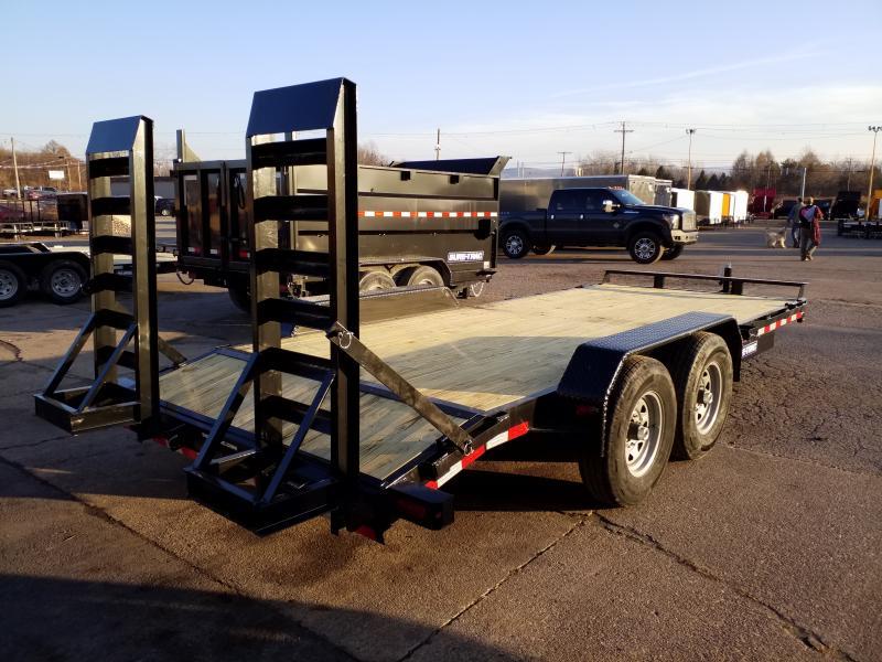 2020 Sure-Trac 7X18 14K Equipment Trailer