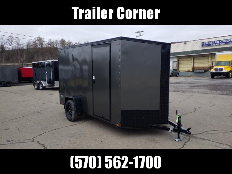 2021 Look Trailers STLC 6X12 EXTRA HEIGHT Enclosed Cargo Trailer