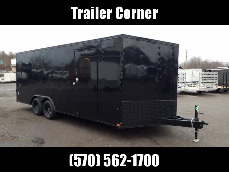 2021 Look Trailers ST 8.5X20 7K DLX BLACKED OUT Car / Racing Trailer