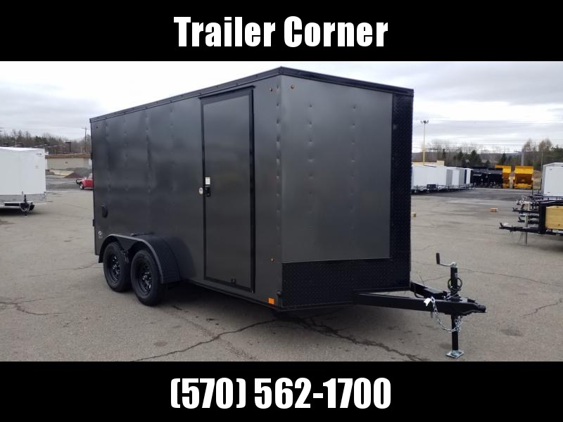 2021 Look Trailers STLC 7X14 EXTRA HEIGHT BLACKED OUT Enclosed Cargo Trailer