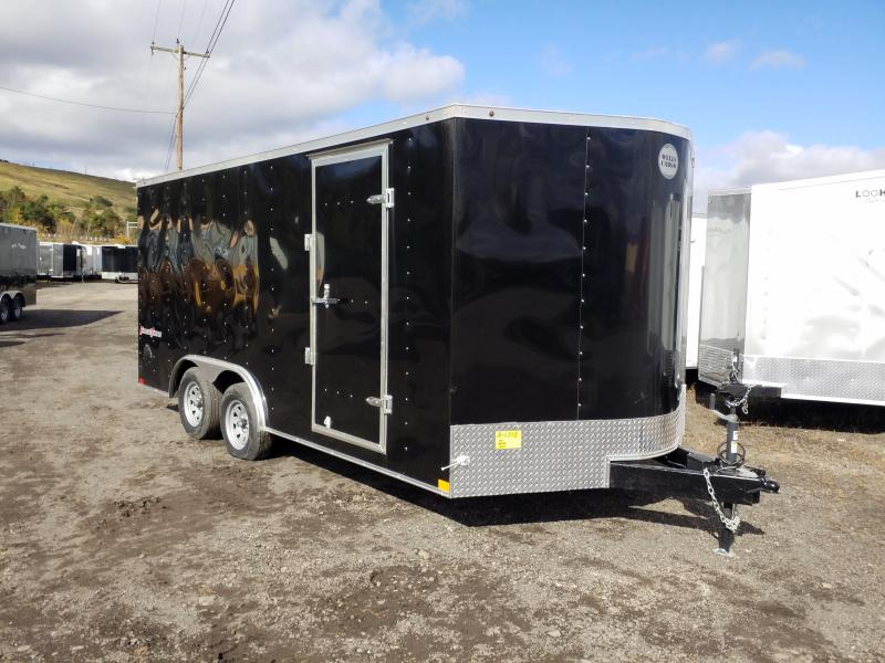 2019 Wells Cargo FT 8.5X16 7K Car / Racing Trailer