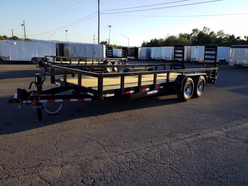 2020 Sure-Trac 7X20 14K HEAVY DUTY Equipment Trailer