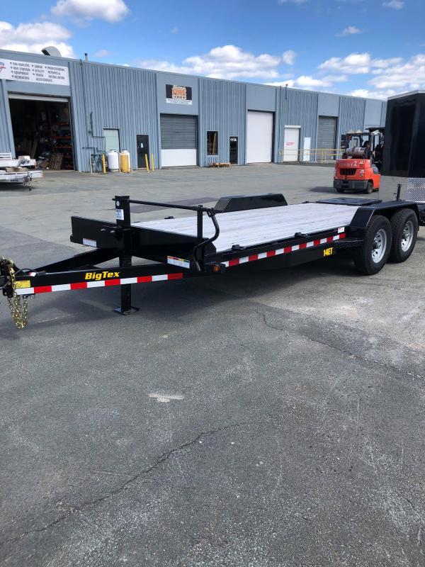 2019 Big Tex Trailers 14ET Mega Ramp Equipment Trailer