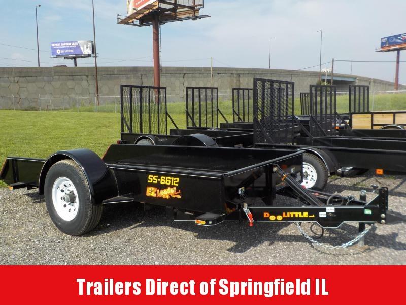 2018 Doolittle Trailer Mfg 66x12 EZ Loader SS 7k Utility Trailer