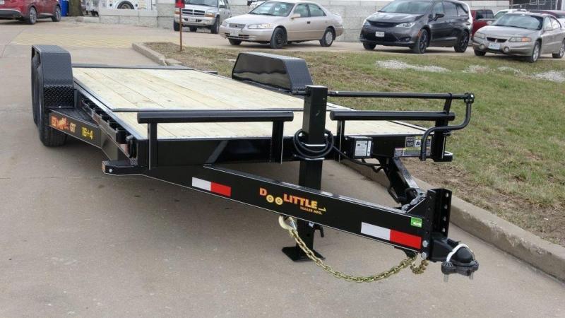 2019 DOOLITTTLE TRAILERS 82 X 20 14K HD T/A CF EQUIPMENT TRAILER