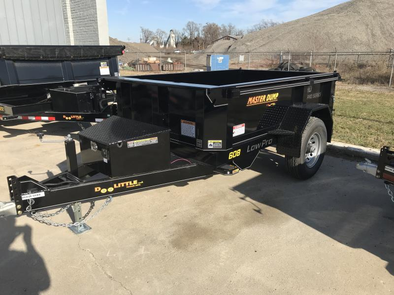 2020 Doolittle Trailer Mfg Master Dump, 60x8, 7K