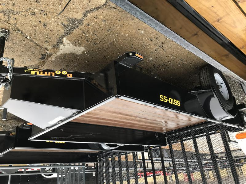 2019 Doolittle Trailer Mfg SS Utility, 66x10, Black