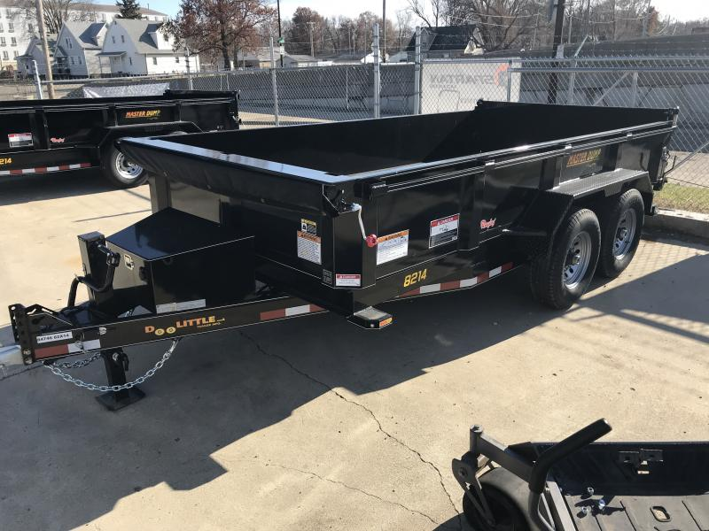2019 Doolittle Trailer Mfg Master Dump, 82x14, 14K