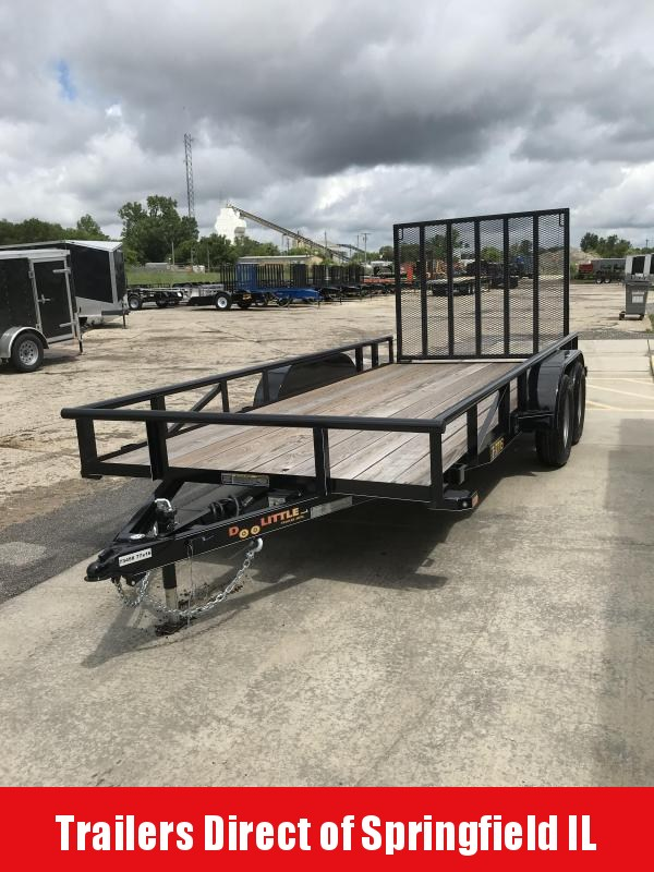 2019 Doolittle Trailer Mfg 77x20 Tandem Axle 7K Utility Trailer