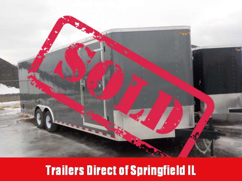 2018 Doolittle Trailer Mfg 8.5x22 T/A Enclosed Cargo Trailer