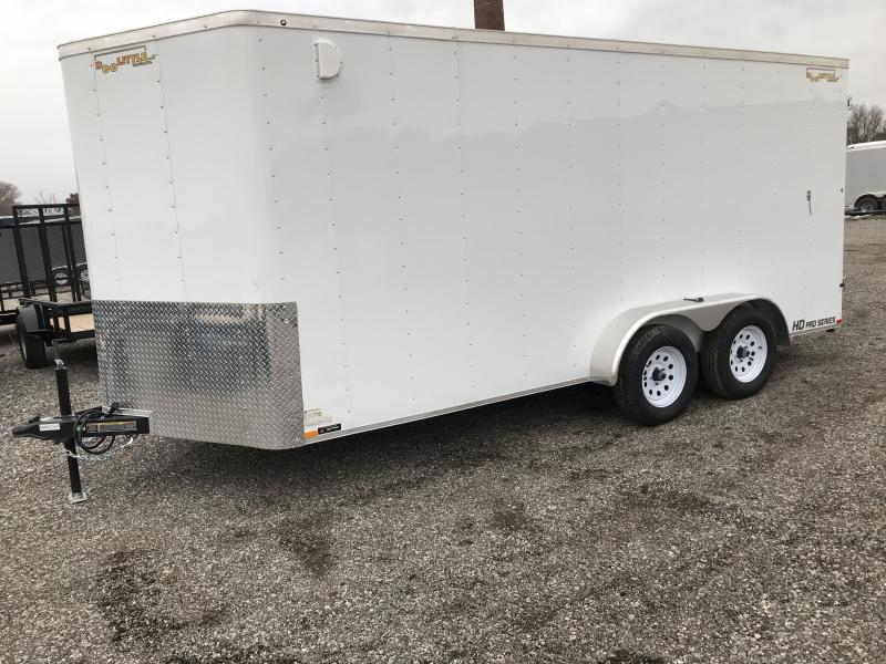 2019 Doolittle Trailer Mfg Bullitt, 7x16, T/A