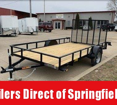 2019 Doolittle Trailer Mfg Rally Sport 77x12 Single Axle Utility Trailer