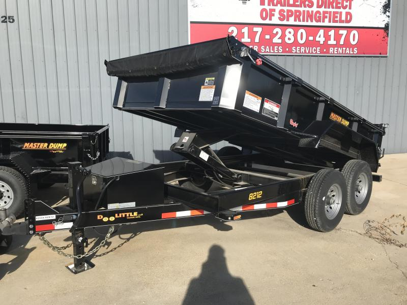 2019 Doolittle Trailer Mfg Master Dump, 82x12, 14K