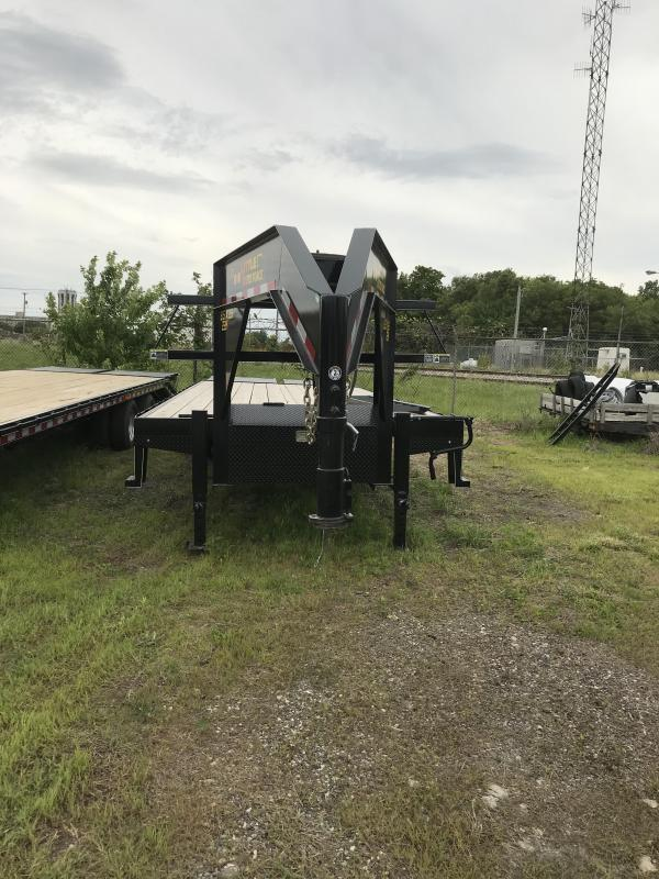 2019 Doolittle Trailer Mfg 102x25  Brute Force Tandem Axle 22K Equipment Trailer