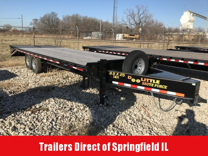 2019 Doolittle Trailer Mfg Brute Force Flatbed Trailer