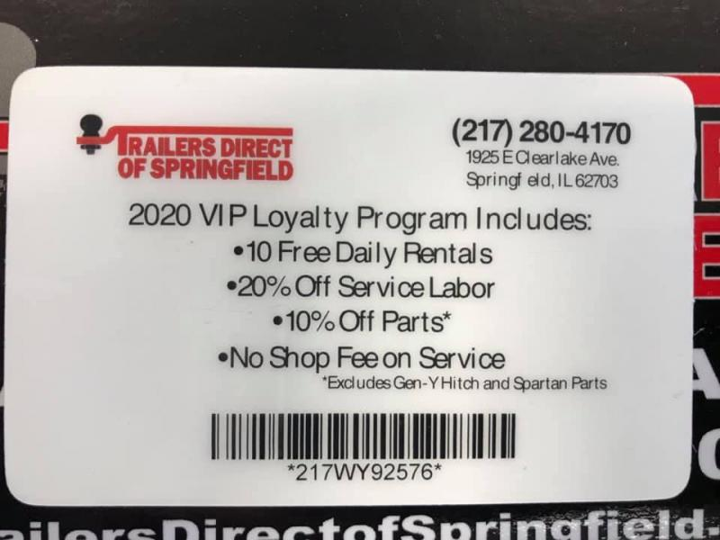 Trailers Direct of Springfield VIP Loyalty Program