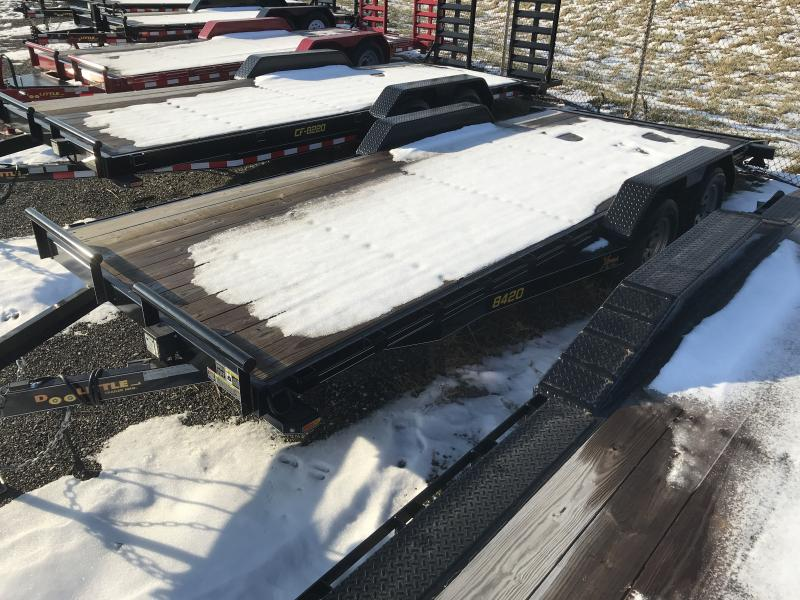 2018 Doolittle Trailer Mfg Xtreme, 84x20 (18+2), T/A
