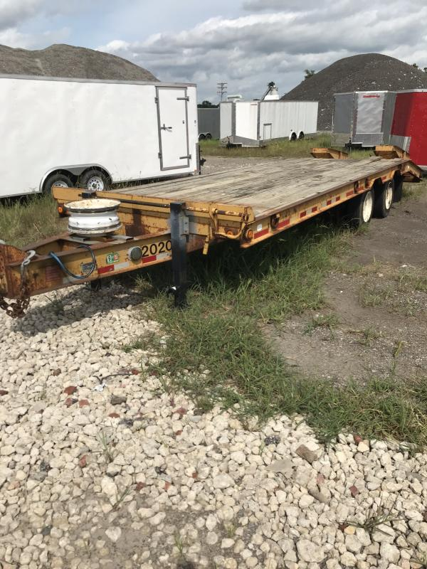 2019 Doolittle Trailer Mfg Rental Used 2002 Belshe Deckover, 102x30, 22K