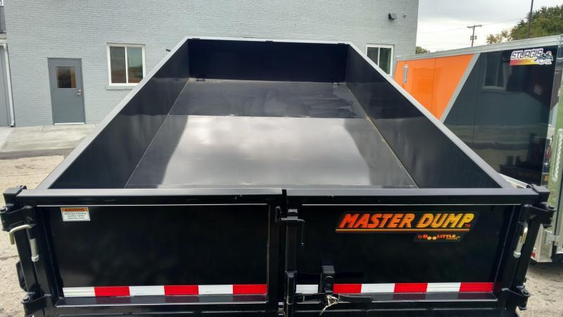 "Doolittle Trailer Mfg Masterdump 8200 Series 82"" x 14 Tandem Axle 14K Gas"