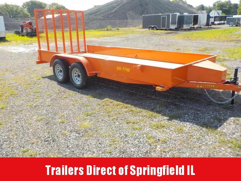 2019 Doolittle Trailer Mfg 77x16 SS Series Utility Trailer