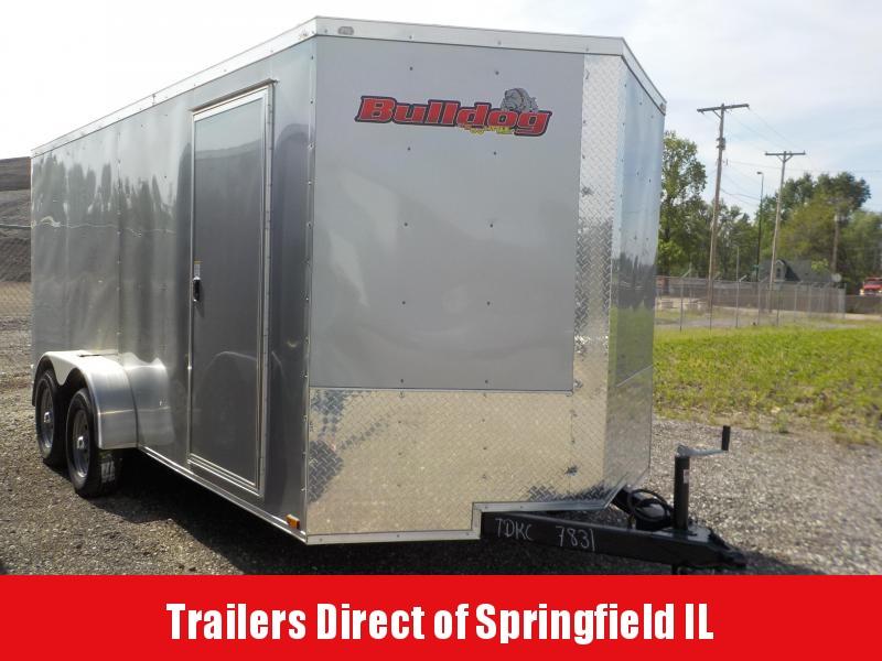 2018 Doolittle Trailer Mfg Bulldog Cargo 7x16 T/A 7K