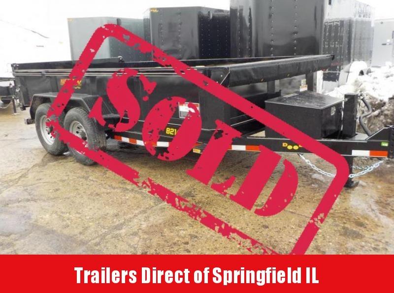 2019 Doolittle Trailer Mfg 82x14 Scissor 14K Dump Trailer